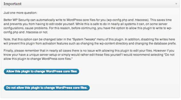 Permite alterar os arquivos do core do WordPress? Sim!